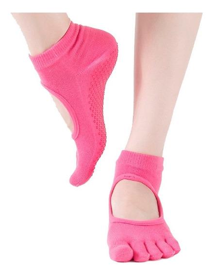 Lote 12 Calcetines Yoga Antiderrapantes Para Mujer Dama