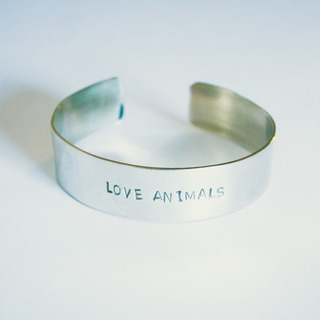 Brazalete Esclava Love Animals (5 Mm.)