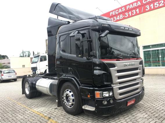 Caminhão Cavalo Mecânico Scania P340 4x2 Toco 2011 Preta