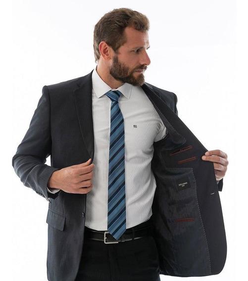 Kit: Terno Slim Fit + Camisa + Gravata, Promoção