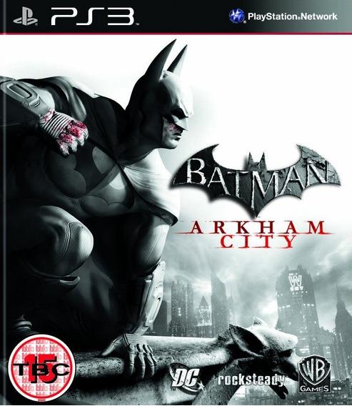Jogo Batman Arkham City Ps3 Legendado Português Mídia Física