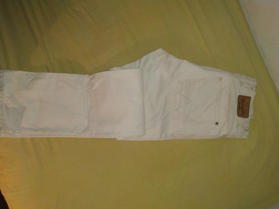 Pantalon Wrangler Talle 42 Blanco Como Nuevo