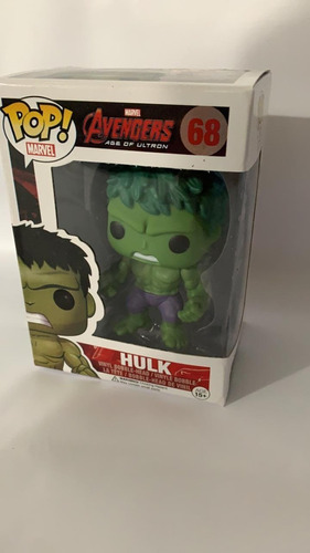 Muñecos Tipo Funko Pop Hulk 10 Cm Personaje Avengers