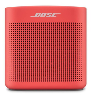 Parlante Portátil Bluetooth Bose Soundlink Color 2 Rojo