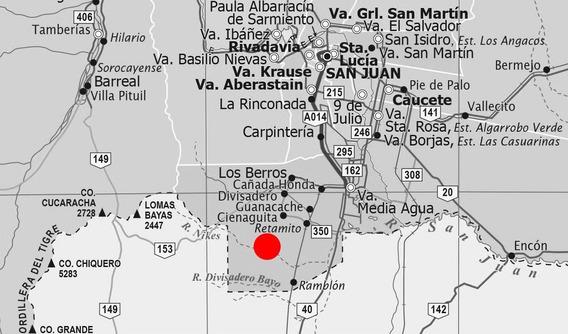 Campo En Venta - Sarmiento - El Acequion 3.800 Ha - Provincia De San Juan - Oportunidad