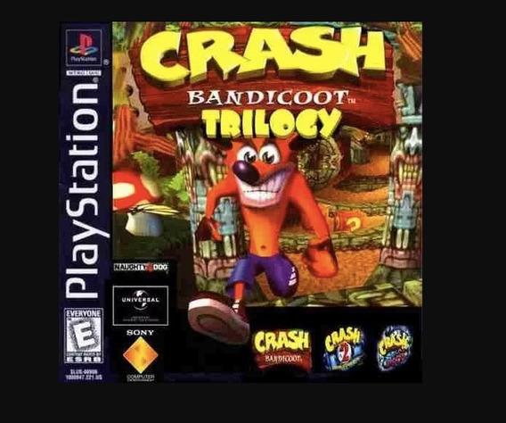 Crash Bandicoot 1 ,2 E 3- Psn-ps3 -jogo Digital Leia Anúncio