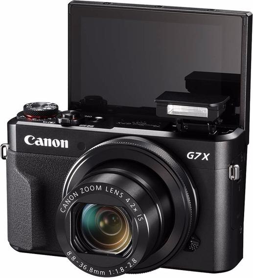 Canon Rebel G7x Mark Ll Wi +32gb + Bateria