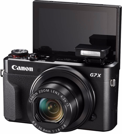 Canon Rebel G7x Mark Ll Wi +32gb + Bateria+nota