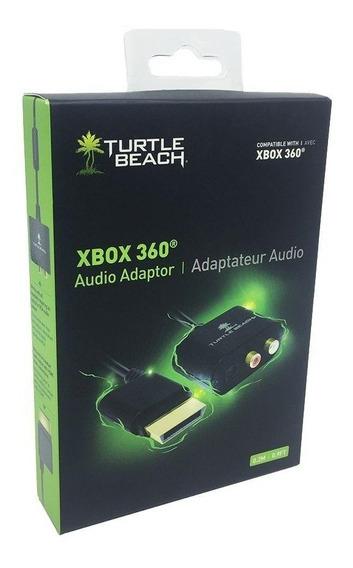 Adaptador De Áudio Turtle Beach Xbox 360 Pronta Entrega