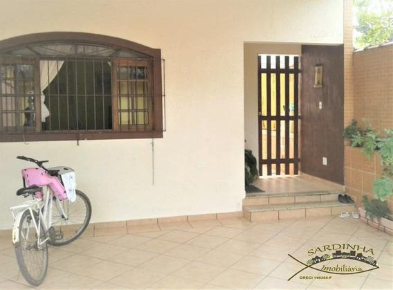 Sobrado Para Venda - 250m² - Com 4 Dormitórios, 1 Suite, Lavanderia E 2 Vagas De Garagem - Estuda Permuta - Bertioga - Sp - Ml902