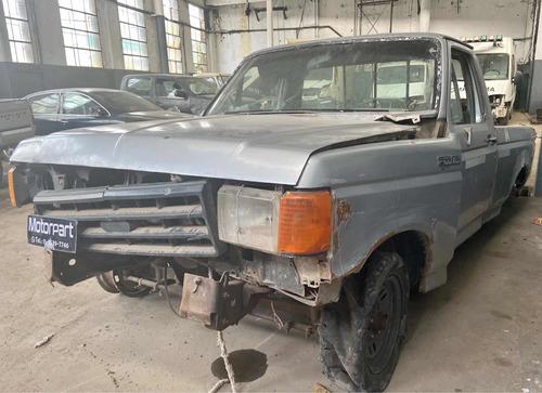 Ford F100 Mwm 1995 Chocada Al Día Lista Para Transferir