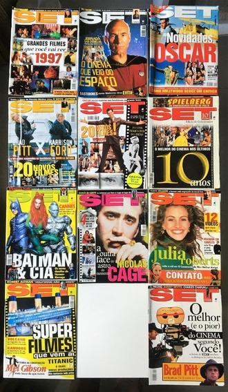 Revista Set 1997 Ano Completo (12 Edições) Perfeito Estado