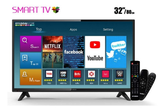 Tv Smart Digital Led Wifi Hyundai 32 Polegadas Frete Gratis