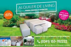 Alquiler Living Para Eventos, Fiestas Y Agasajos Int / Ext