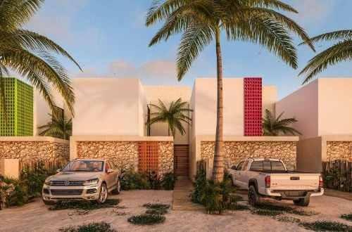 Villas En Conjunto Residencial Diez.cinco Chicxulub Puerto Yucatan