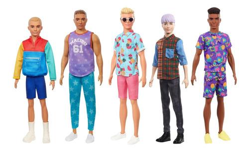 Imagen 1 de 6 de Barbie Fashionista, Ken Fasahionistas