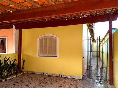 Casa Com 1 Dormitório No Campos Eliseos - Itanhaem. Ref S391