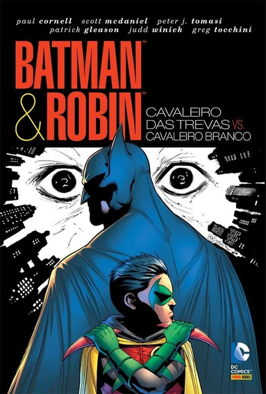 Hq - Batman E Robin -cavaleiro Das Trevas X Cavaleiro Branco