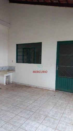 Imagem 1 de 11 de Casa Com 4 Dormitórios À Venda, 146 M² Por R$ 190.000,00 - Parque Novo São Geraldo - Bauru/sp - Ca3035