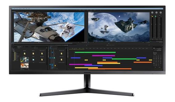 Monitor Ultrawide 34 Pulgadas Samsung J550 Wqhd 1440p Cuotas
