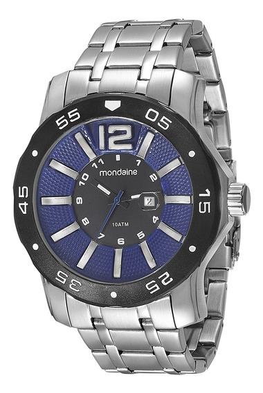 Relógio Mondaine Masculino Prata Aço 94851g0mvna2