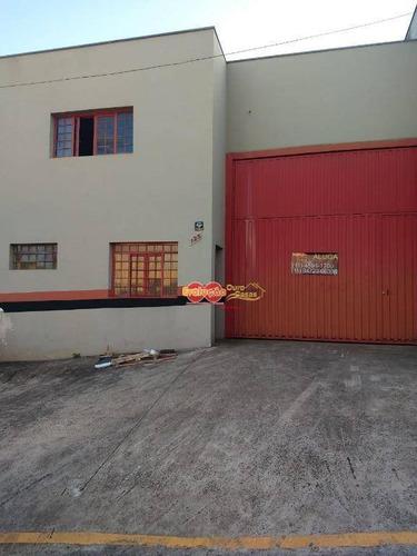 Imagem 1 de 1 de Galpão Industrial/ Comercial Situado No Bairro Parque Empresarial. - Ga0305