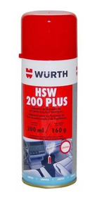 6 Higienizador Hsw De Ar Condicionado Wurth Lavanda Soft F