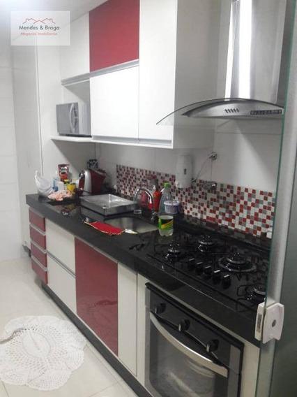 Apto No Macedo C/ 2 Dormitórios - 63 M² - Aceita Permuta De Maior Valor - Apto De 3 Dormitórios Ou Casa Em Condomínio Fechado - Ap0992