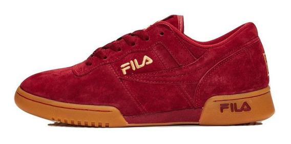 Tenis Fila Original Fitness Premium Rojo Hombre. Originales