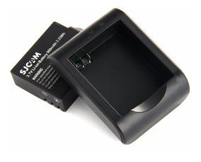 Bateria + Carregador Sjcam Sj4000 Sj5000 Frete Grátis Origi