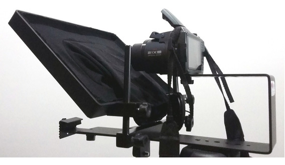 Teleprompter Profissional + Controle Remoto iPad Tablet