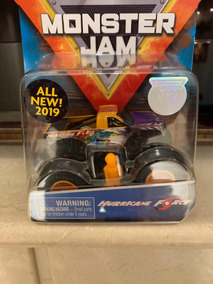 Monster Jam 2019 Hurricane Force 1/64 - Versão Americana.