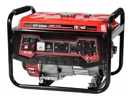 Generador 2,800 Wtts 6.5 Hp 120-240v 43 Kg Nit-g3002