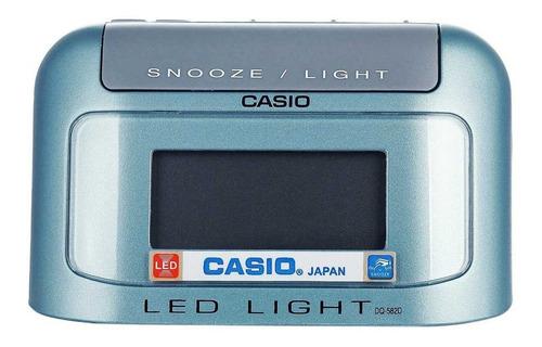 Reloj Despertador Casio Dq582d 100% Original 2 Años Garantía