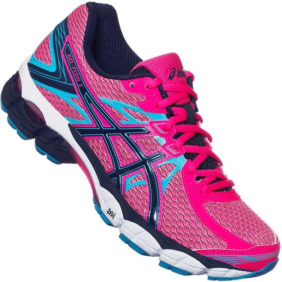 Tenis Asics Mujer Rosa Deportivos Gel Flux 2 T568n2045