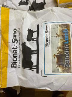 Leche En Polvo Para Borrego Y Cabra 10kilos