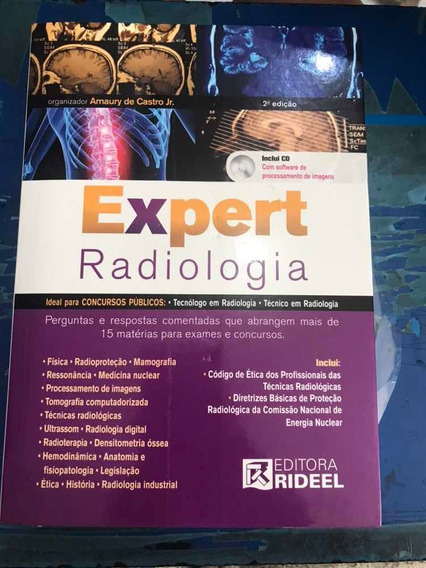 Livro Expert Radiologia 2ª Edição - C/cd