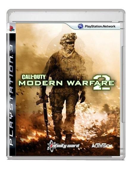 Call Of Duty Modern Warfare 2 Ps3 Midia Fisica