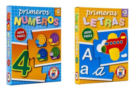 Juego Puzzle Números + Letras Ruibal Promo 13 (+ 3 Años)