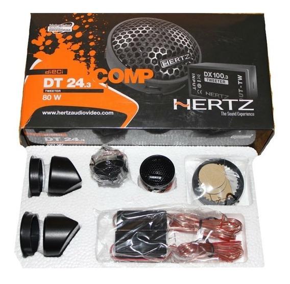 Tweeter Para Parlante Auto Camioneta Kit Completo Hertz
