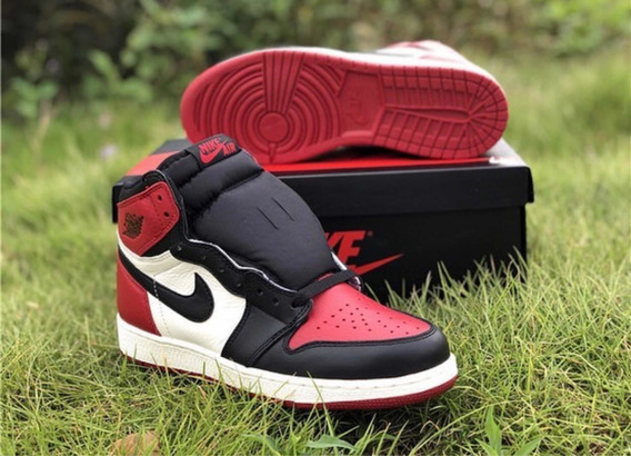 Air Jordan Bred Toe