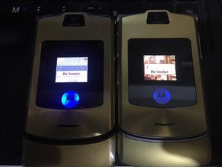Celular Motorola Razr2 V3 Luxury Edition Gold Para Personal