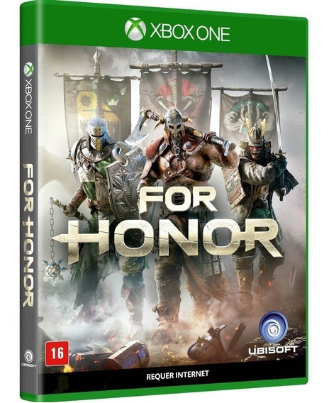 For Honor - Xbox One - Jogo Mídia Física Lacrado Original
