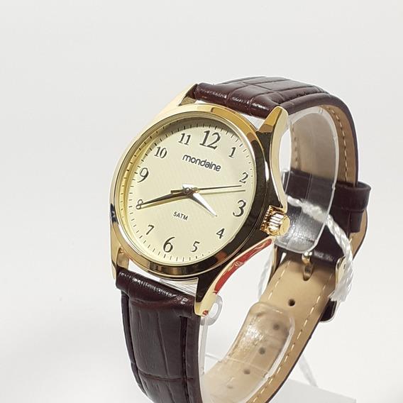 Relógio Feminino Mondaine Dourado Tam Médio 83474lpmvdh2