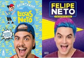 Kit Luccas Neto Vol 2 / Felipe Neto Vol 2 (2 Livros)