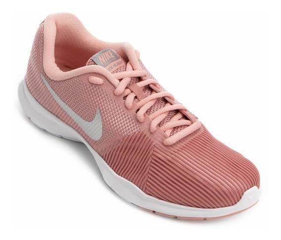 Zapatillas Nike Mujer 881863-610 Flex Bijoux Rosa