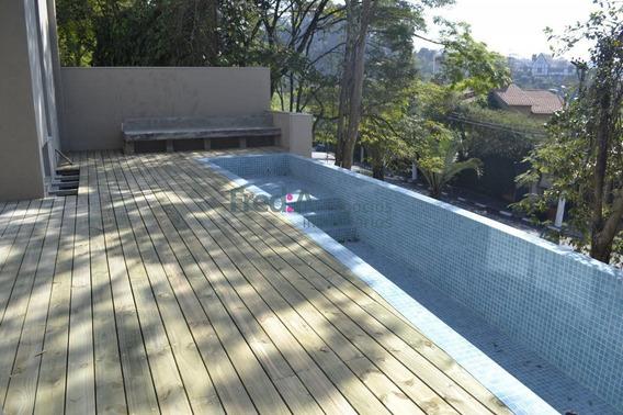 Linda Casa Em Condomínio Fechado Com Projeto De Anna Longui. - Fa1496