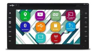 A Melhor Central Multimídia 2 Din Universal Tv Digital Gps