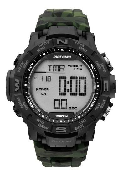 Relógio Mormaii Masculino Digital Camuflado Mo1173c/8v Origi