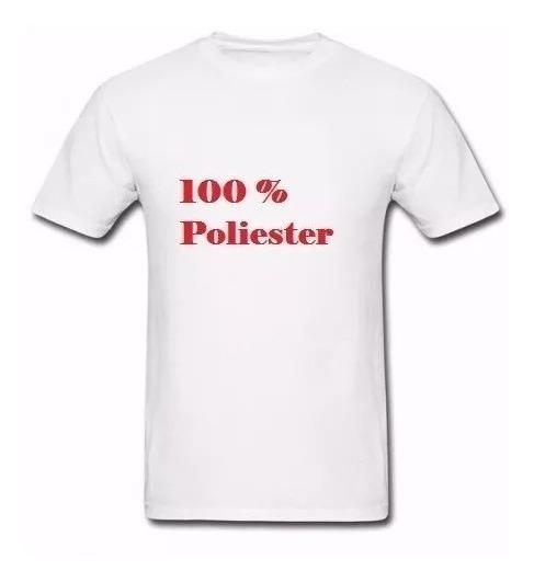 Lote 100 Camiseta Lisa 100% Poliester Camisa Para Sublimação